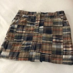 Brooks Brothers Madras Classic Skirts EUC